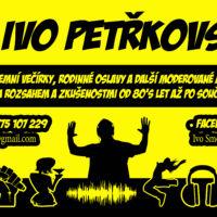 Vizitka DJ Ivo Petřkovský návrh Jeseník