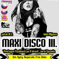 Plakát maxi disco návrh Jeseník