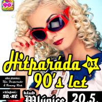 Plakát diskotéka oldies návrh Jeseník