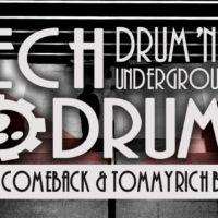 Banner tech drums návrh Jeseník