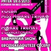 Plakát erotická show návrh Jeseník