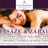 Banner masážní služby návrh Jeseník
